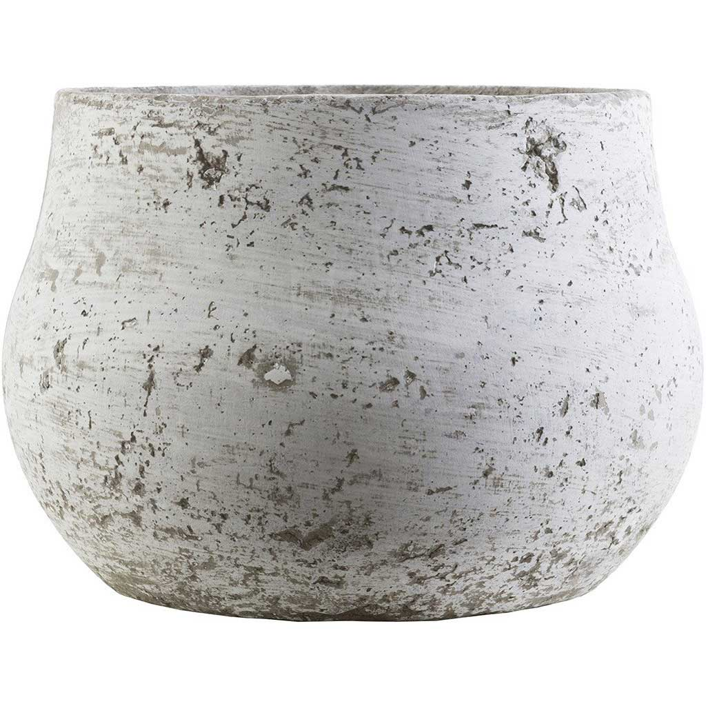 Rome Cement Pot Light Gray Small