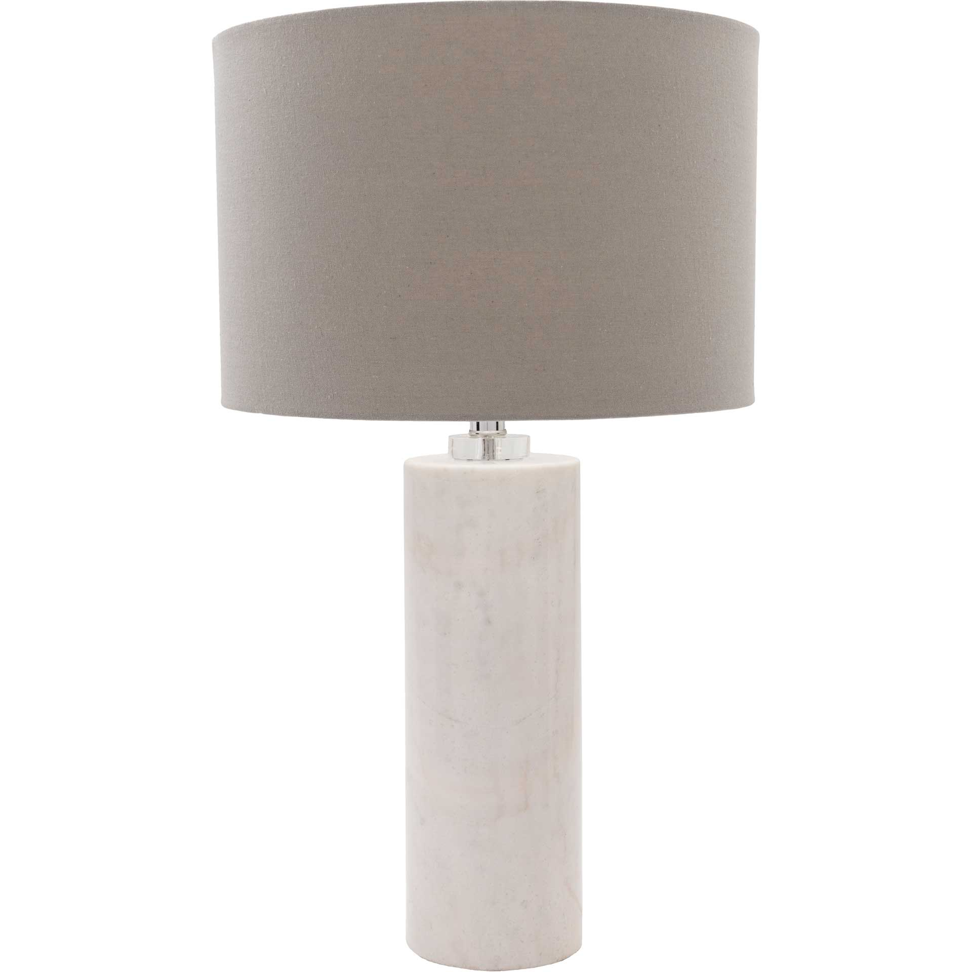 Robert Table Lamp Light Gray/White/Gray
