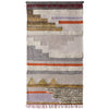 Anthropology Wall Hanging Ivory/Gray/Gold