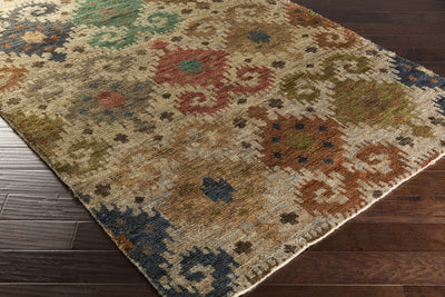 Scarborough Rust/Emerald/Kelly Area Rug