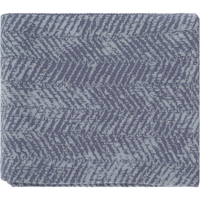 Stella Throw Charcoal/Ice Blue