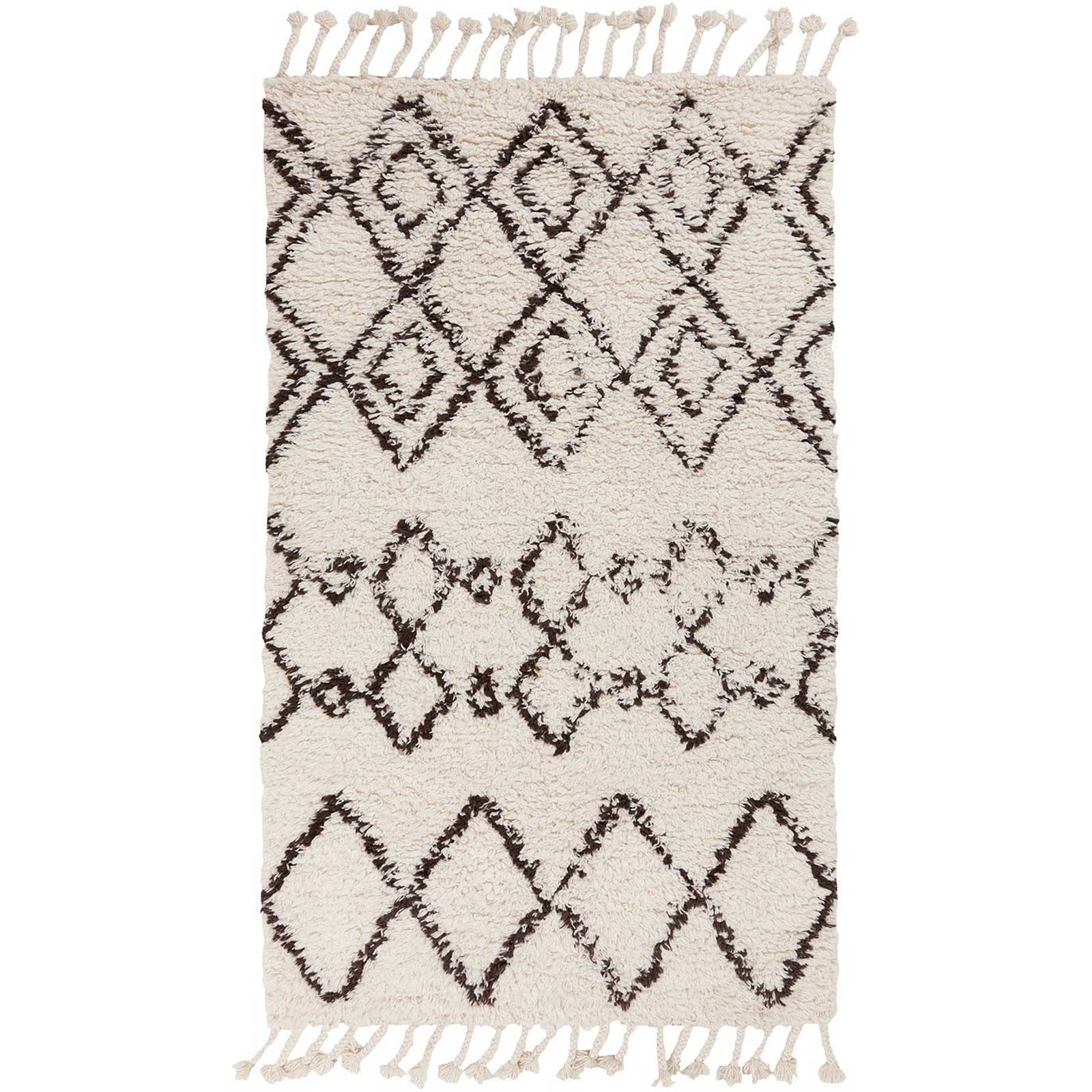 Sherpa Ivory/Taupe Area Rug