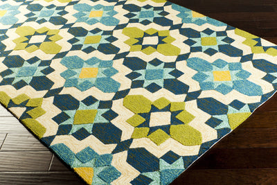 Storm Lime/Butter Area Rug