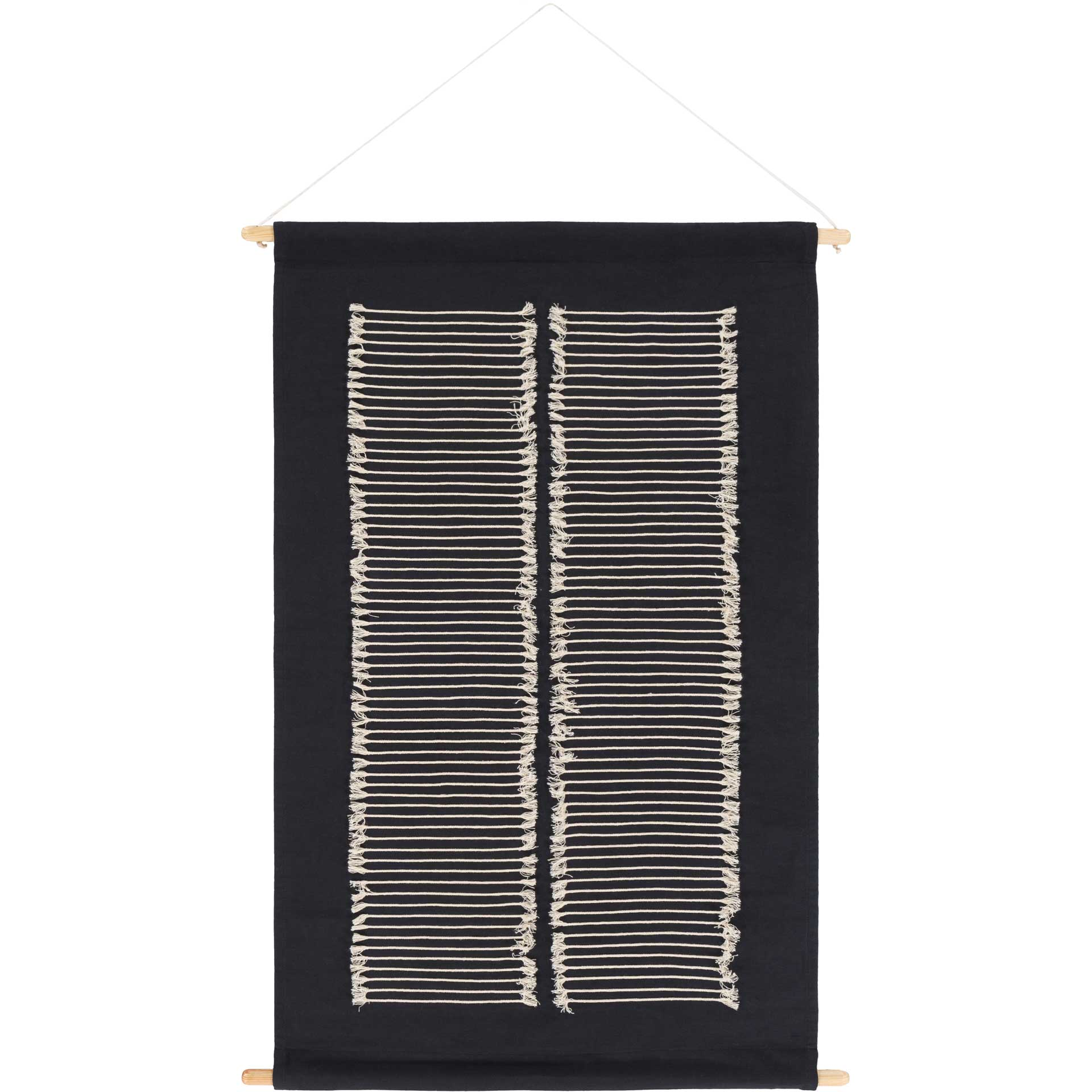 Salma Wall Hanging Black/Cream