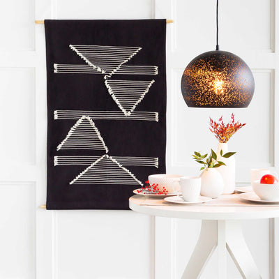 Salma Wall Hanging Cream/Black