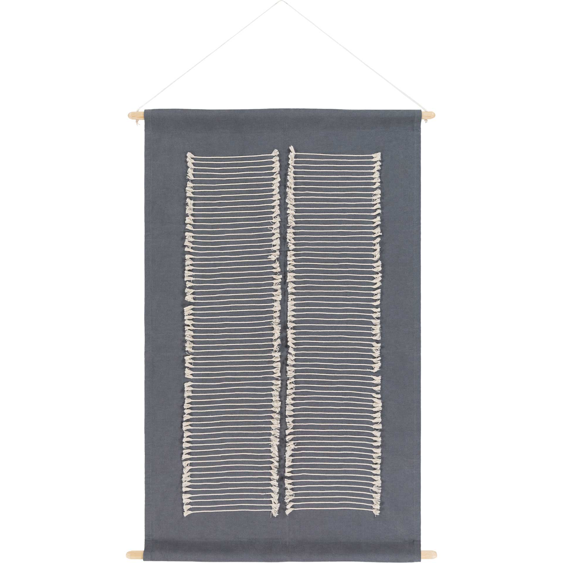 Salma Wall Hanging Charcoal/Cream