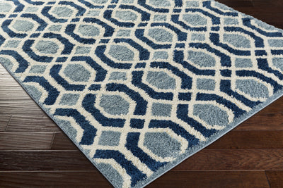 Swift Slate/Cobalt/Ivory Area Rug