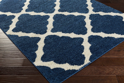 Swift Cobalt/Ivory Area Rug