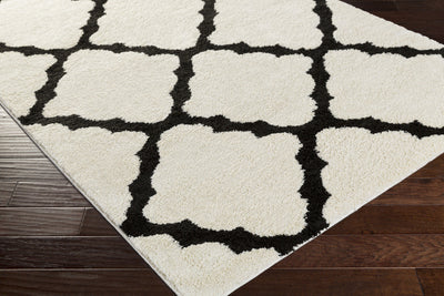 Swift Ivory/Black Area Rug