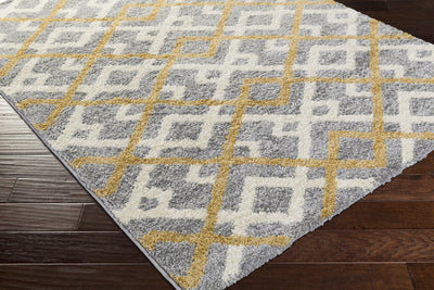 Swift Gold/Light Gray/Ivory Area Rug