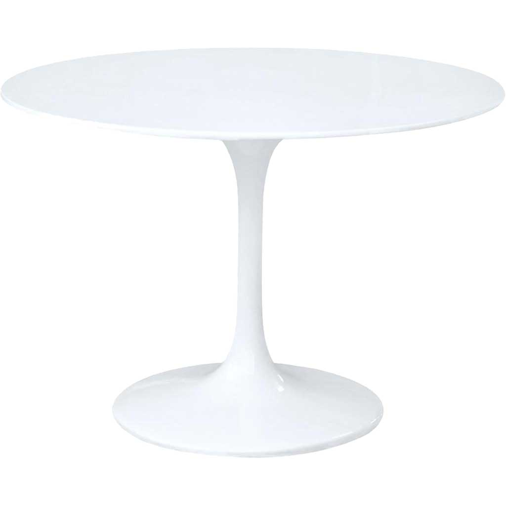 Forum Fiberglass Dining Table White