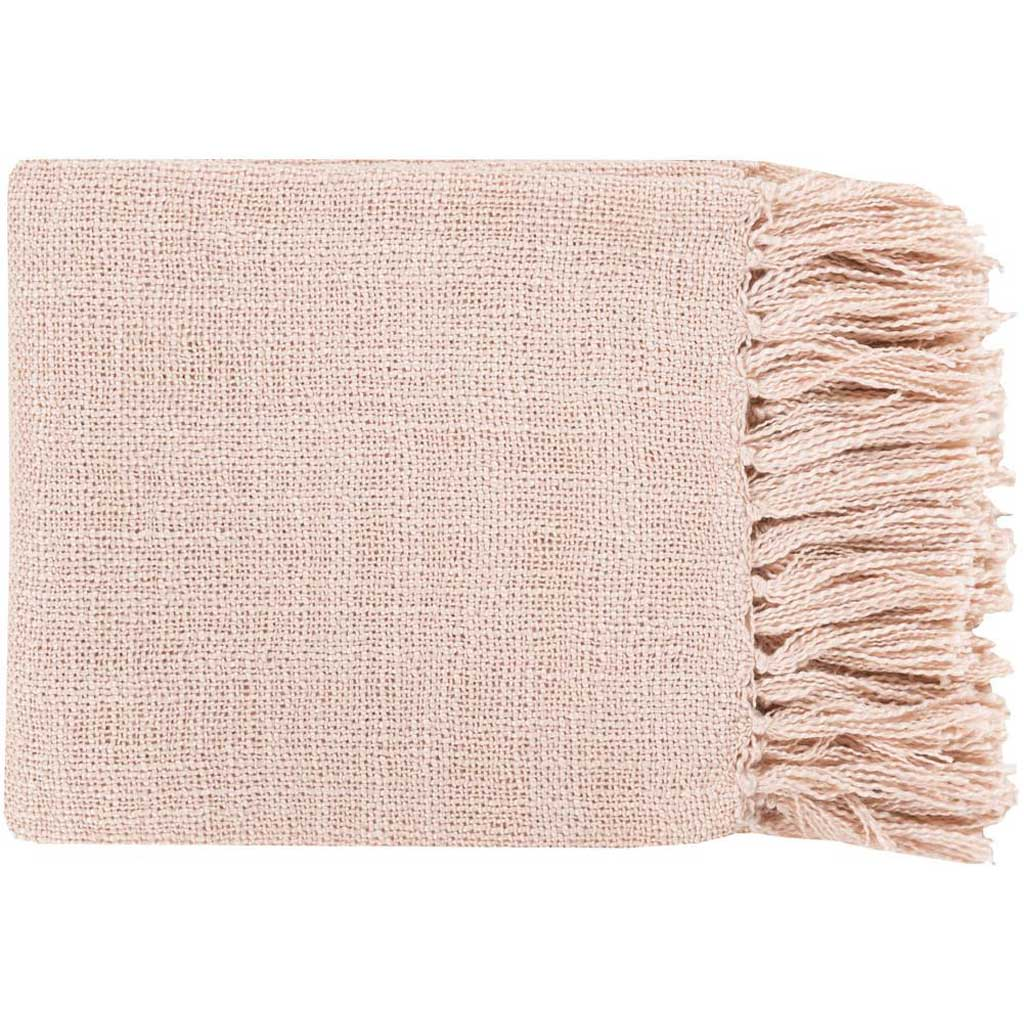 Tilda Solid Pink Throw