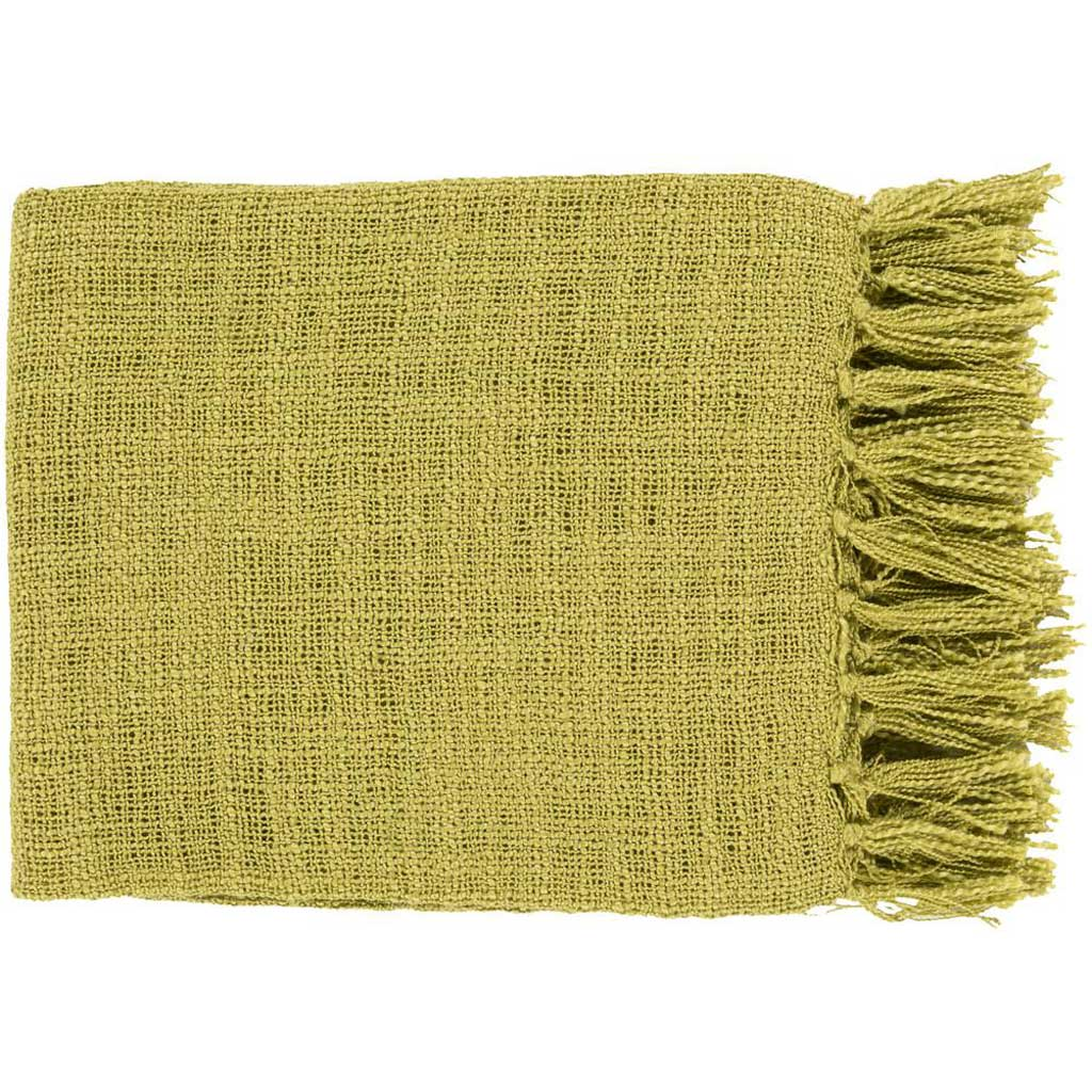 Tilda Solid Green Throw