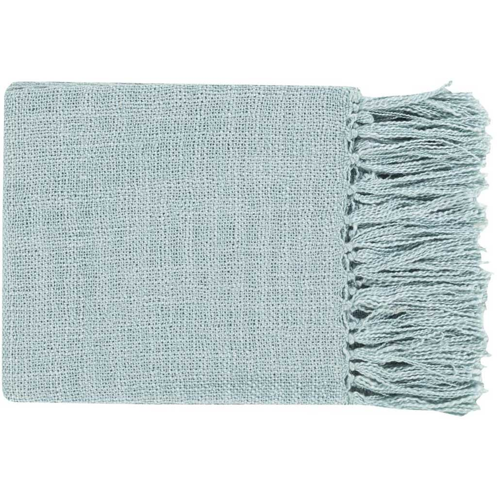 Tilda Solid Mint Throw
