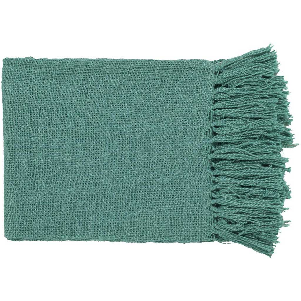 Tilda Solid Teal Throw