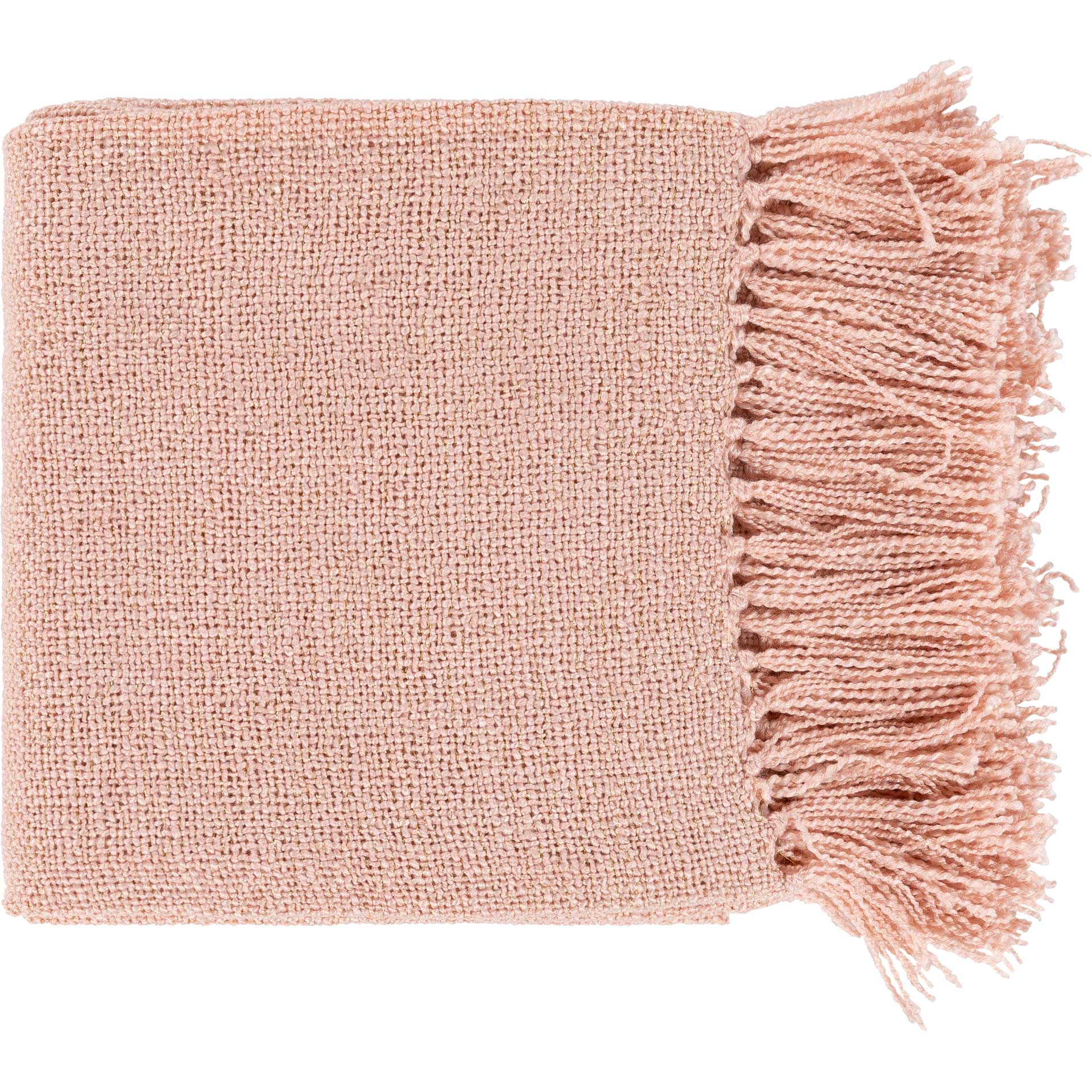 Tiara Throw Blush/Gold