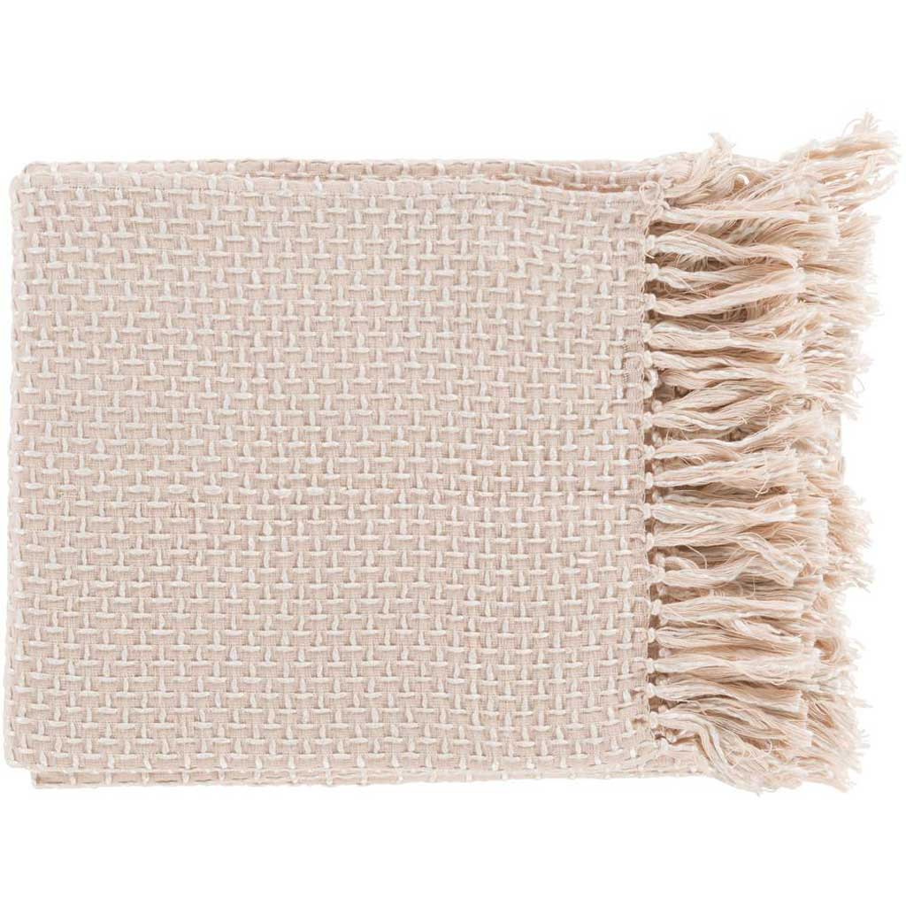 Tierney Textural Pink Throw