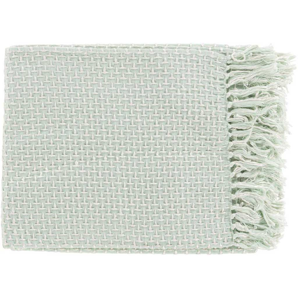 Tierney Textural Green Throw