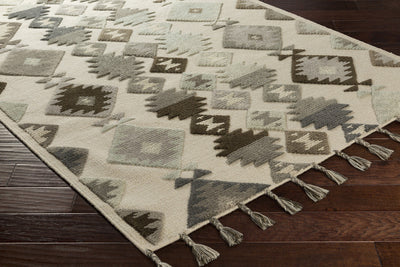 Tallo Beige/Gray/Light Gray Area Rug