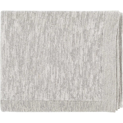 Treasure Throw Light Gray/Khaki/Silver