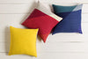 Pertaining to Points Lemon/Gold Pillow