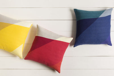 Pertaining to Points Cobalt/Iris Pillow