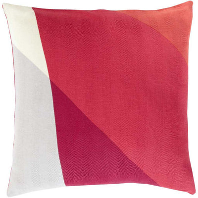 Pertaining to Points Magenta/Hot Pink Pillow