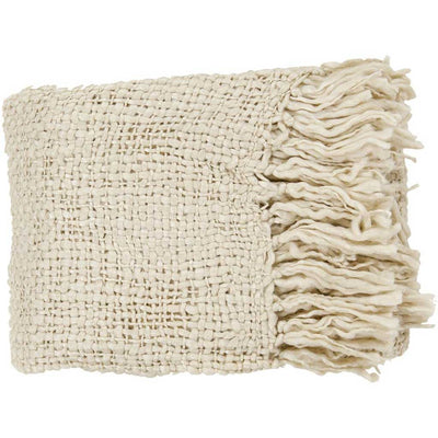 Tobias Solid Neutral Throw