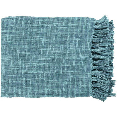 Tori Solid Teal Throw