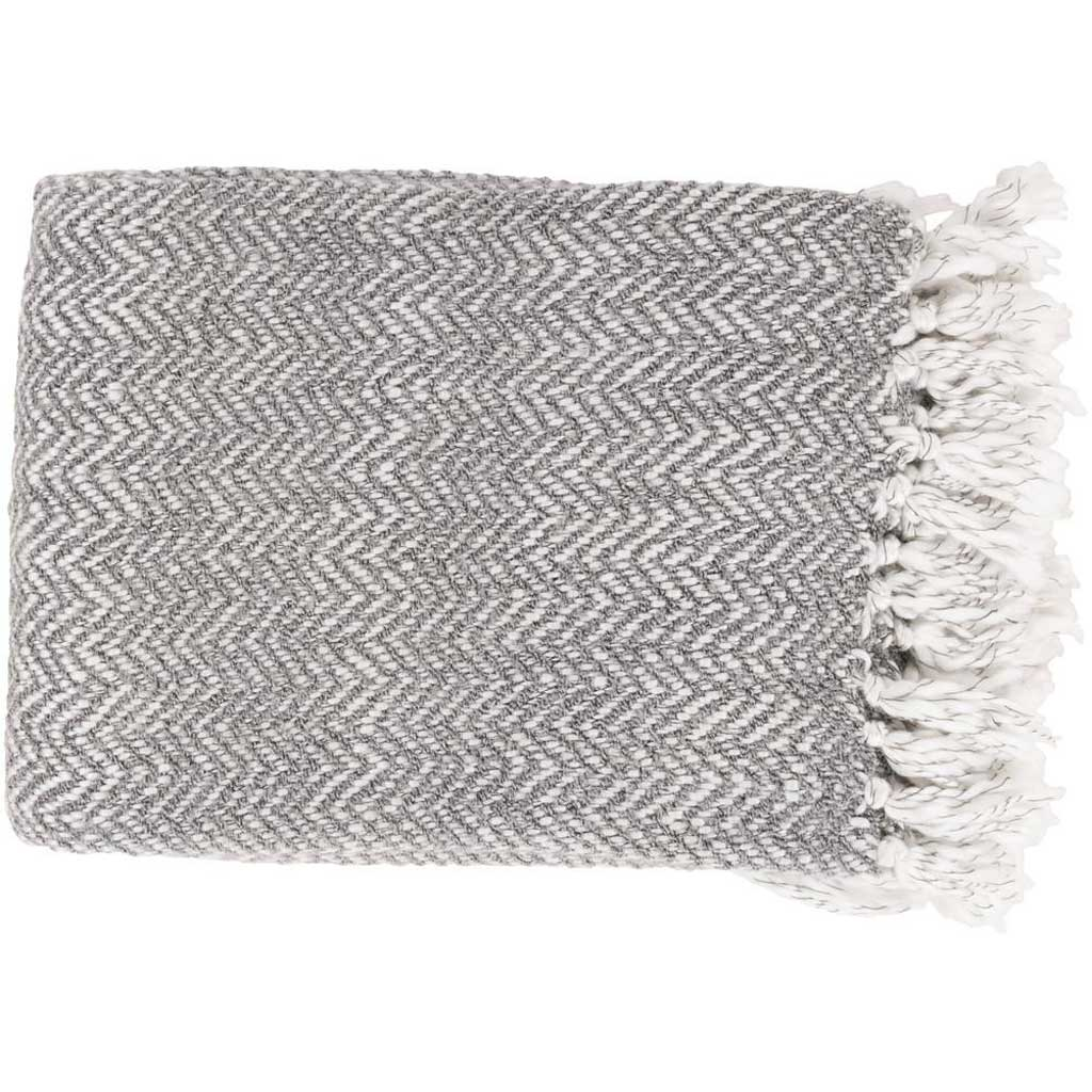 Trina Textural Gray Throw
