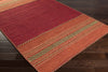 Trenza Cherry/Chocolate Area Rug