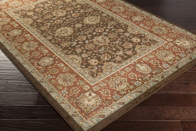 Tatil Chocolate/Beige Area Rug