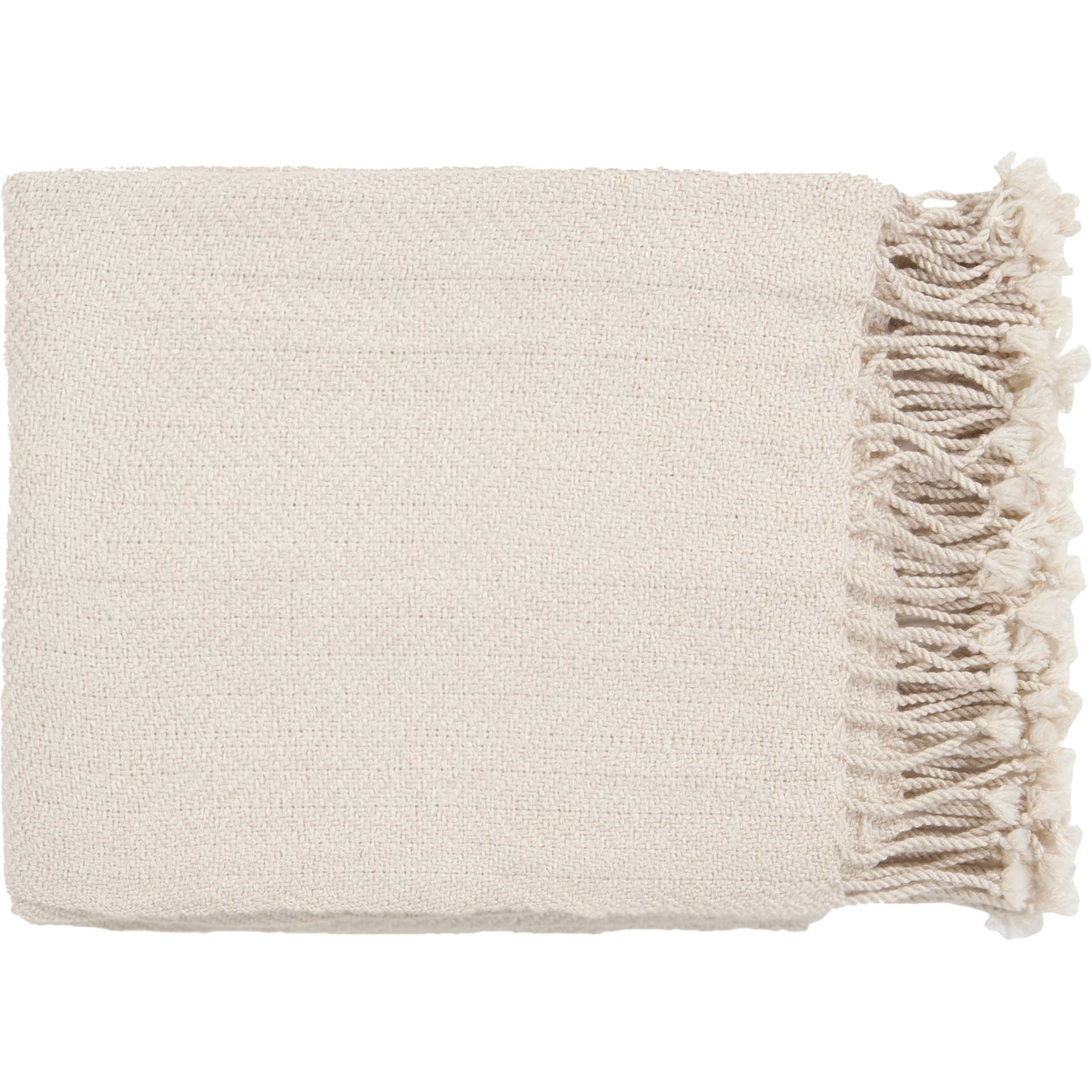 Turner Solid Neutral Throw