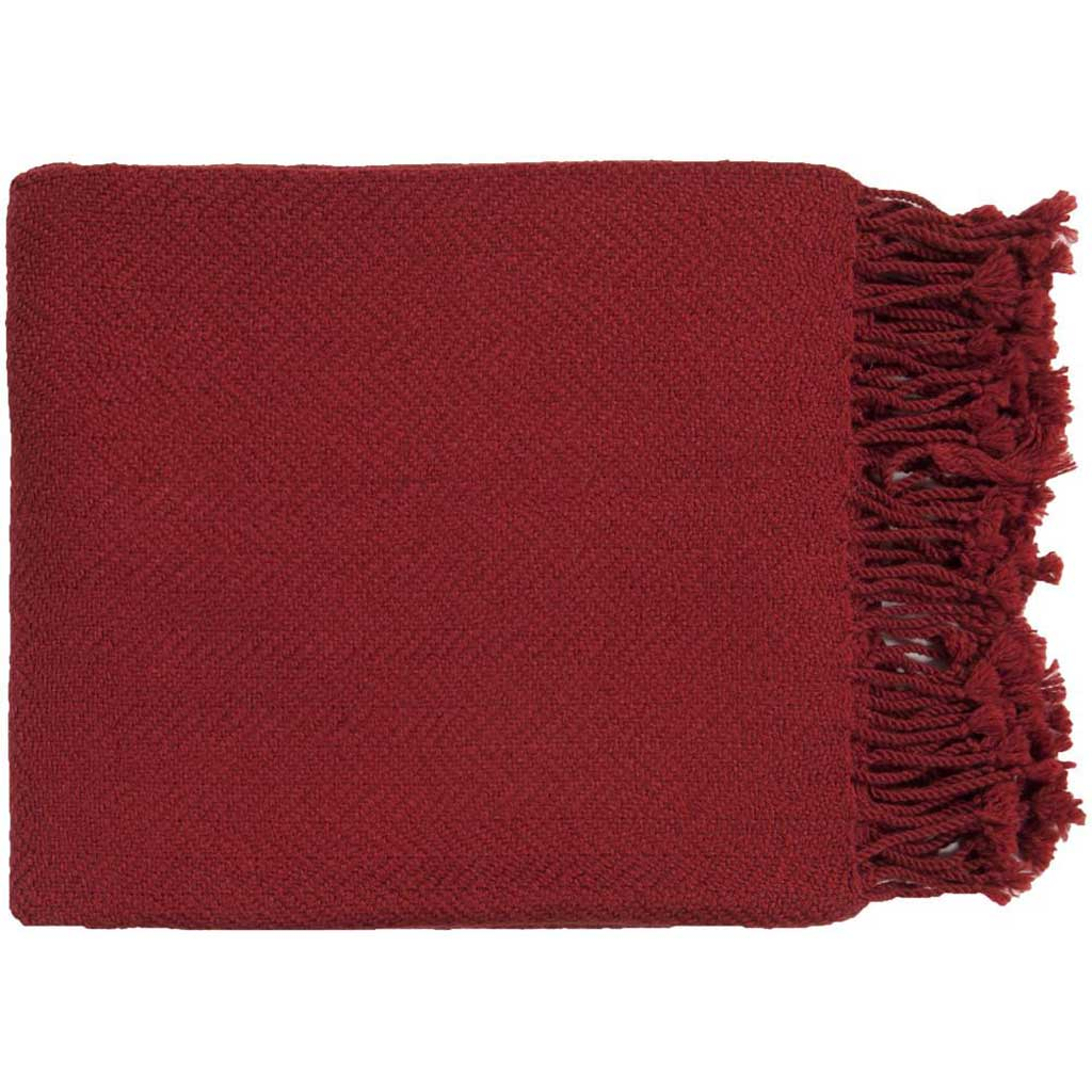 Turner Solid Red Throw