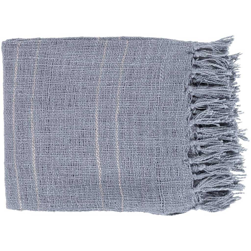 Traveler Stripes Gray Throw