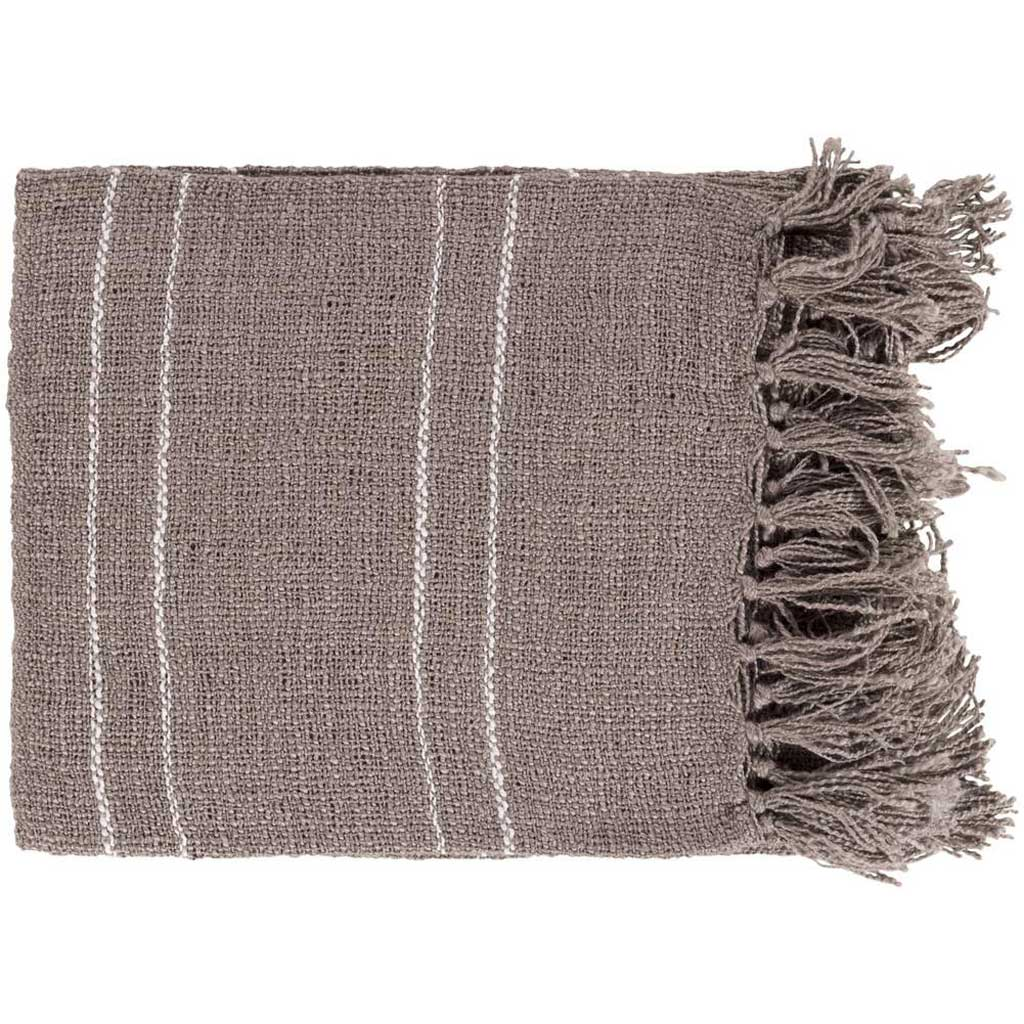 Traveler Stripes Brown Throw