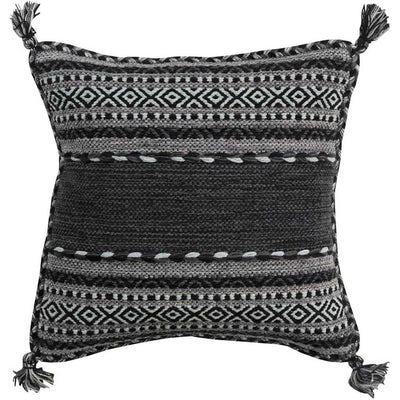 Trenza Charcoal Pillow