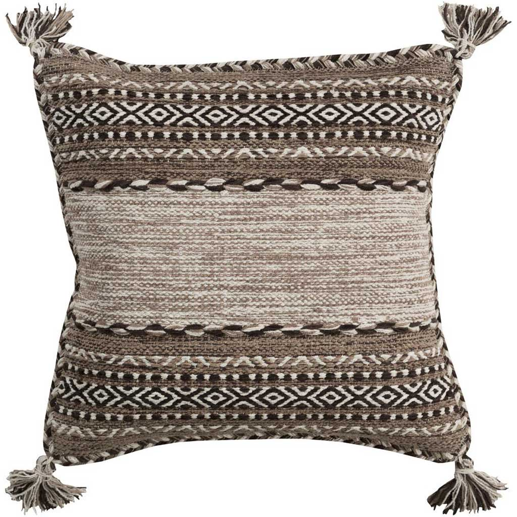 Trenza Taupe/Black Pillow