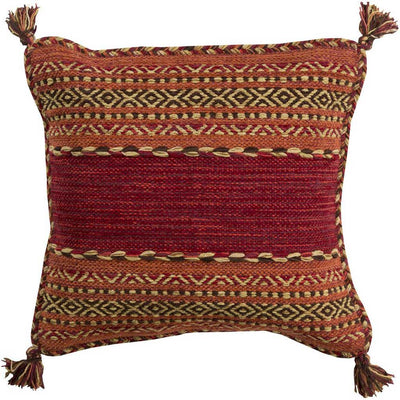 Trenza Cherry/Rust Pillow
