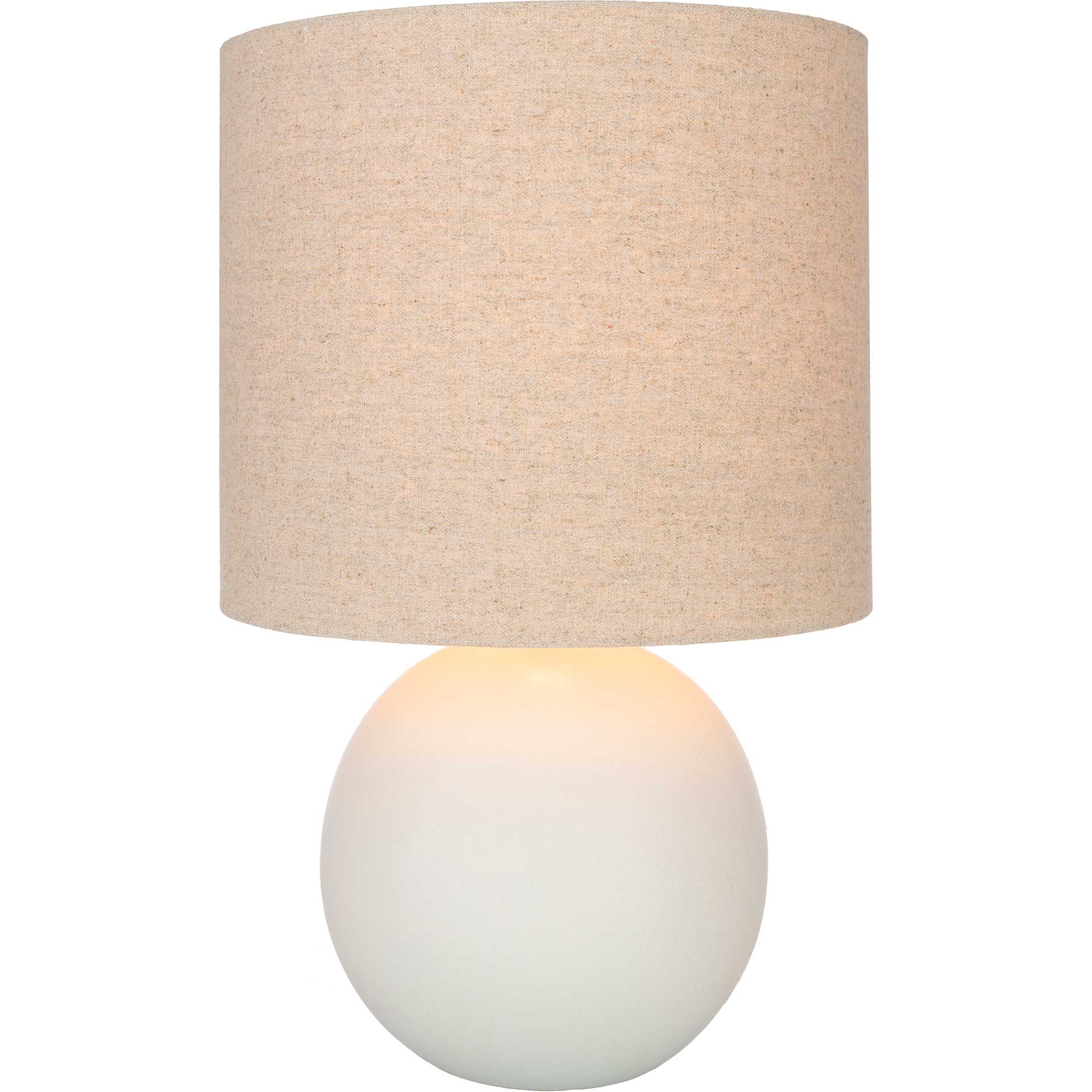 Vicenzia Table Lamp Ivory/Light Gray/Natural