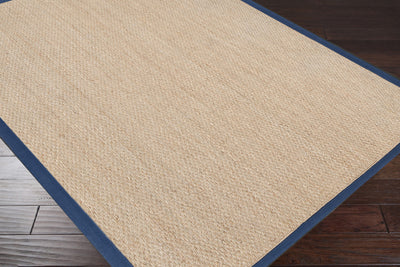 Village Beige/Navy Area Rug