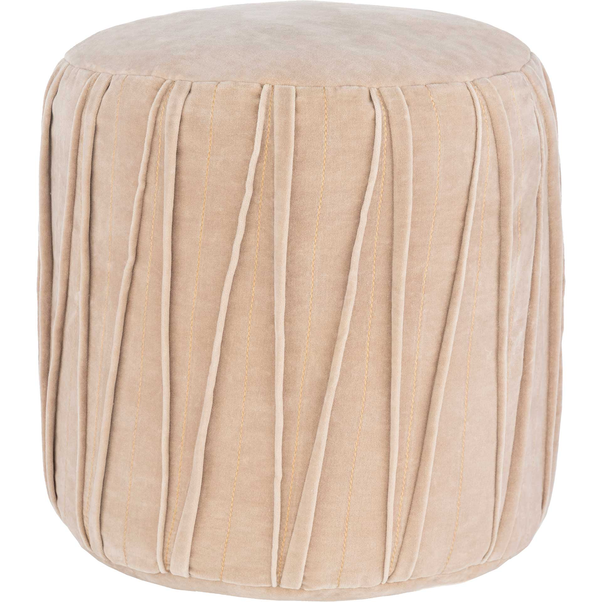Veronica Pouf Taupe