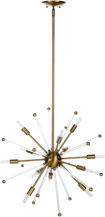Wells Ceiling Lamp Bronze/Clear