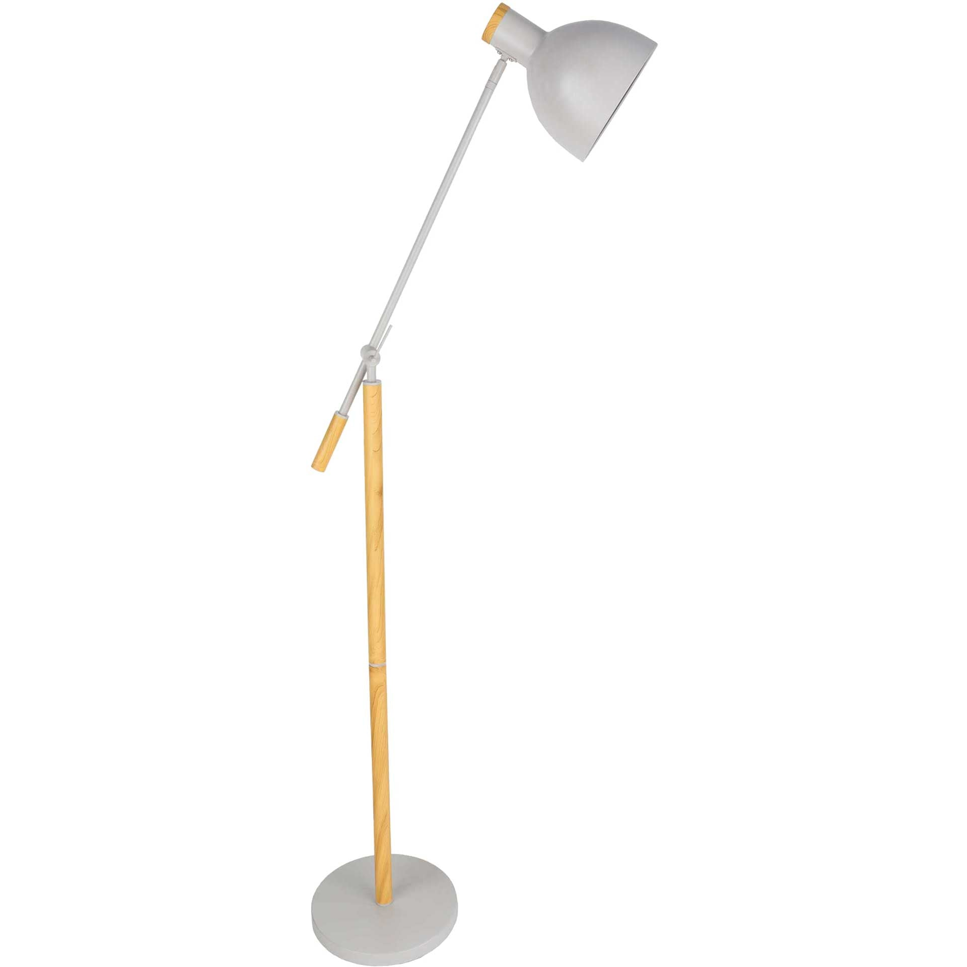 Yahia Floor Lamp Ivory/Off-White