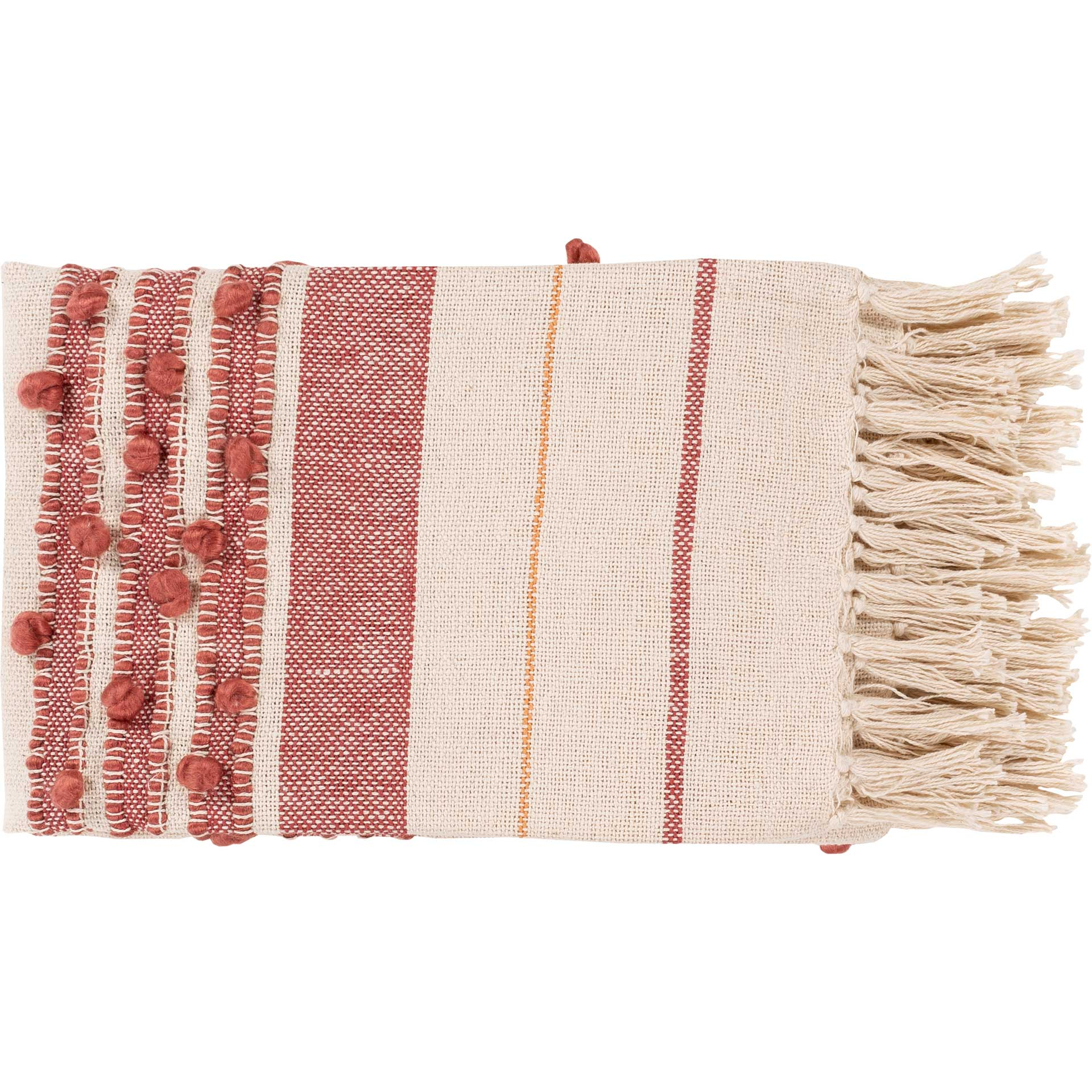 Yemariam Throw Rose/Peach/Cream
