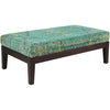 Zahara Gold/Lime/Teal Bench