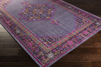 Zahra Iris/Chocolate Area Rug