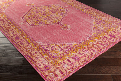 Zahra Hot/Pink Area Rug