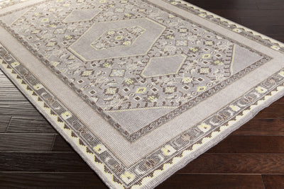 Zahra Charcoal/Light Gray Area Rug
