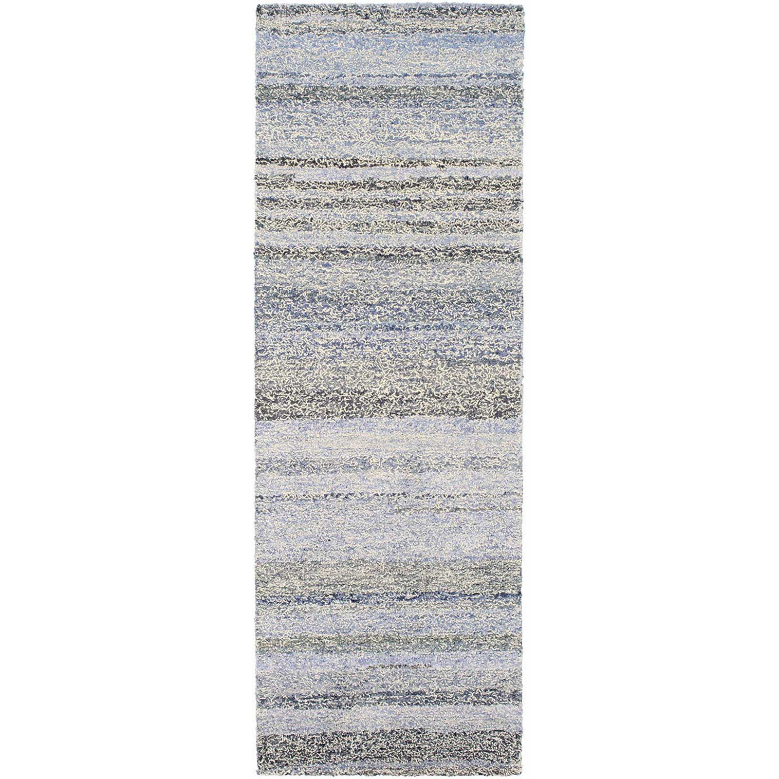 Zola Light Blue/Cobalt Runner Rug
